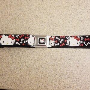 """Hello Kitty """"Seat Belt"""" Belt"""